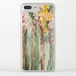 Woods in Spring Clear iPhone Case