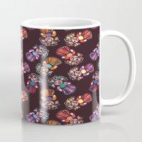 mucha Mugs featuring mucha muchacha by Elminimal