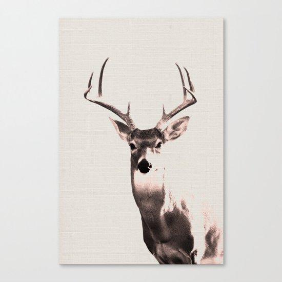 Deer Art 1 Canvas Print