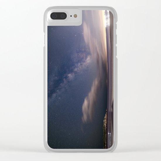 Milkyway at Good Harbor Beach Clear iPhone Case