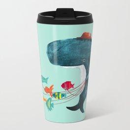 My Pet Fish Metal Travel Mug