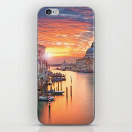 VENICE AT SUNRISE iPhone Skin
