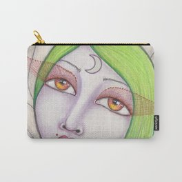 Lunar Moth Carry-All Pouch
