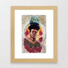 Bad Behavior Framed Art Print