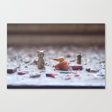 lethal cuteness Canvas Print
