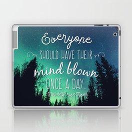 Inspirational Poster - Neil deGrasse Tyson Quote Laptop & iPad Skin