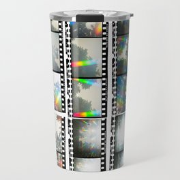 Film Strips From Outer Space Travel Mug