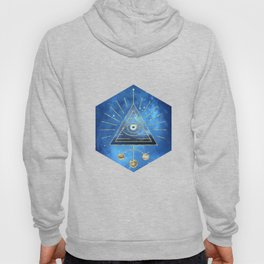 Magic Eye Blue Universe Hoody