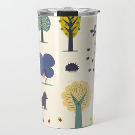 autumn trees Travel Mug