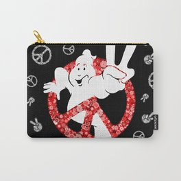 Hippie Peace Ghostbusters Carry-All Pouch