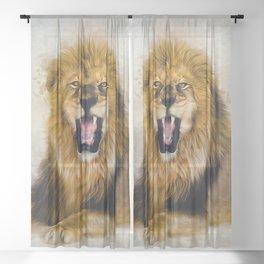 In His Prime Sheer Curtain
