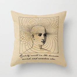 1984 - George Orwell - Reality Throw Pillow