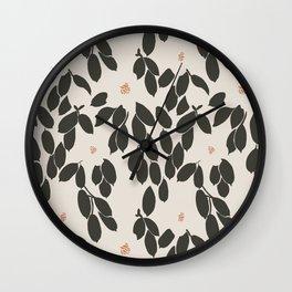 Zooey Magnolia Wall Clock