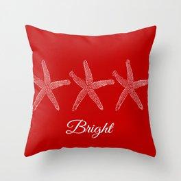 Bright Starish  Throw Pillow