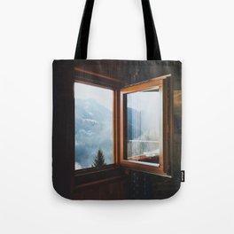 Dolomite Cabin Tote Bag