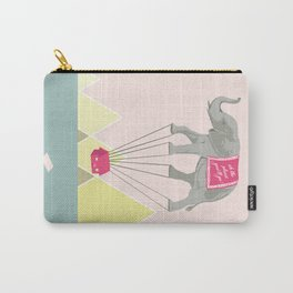 Fly Elephant Oh the places you'll go Carry-All Pouch