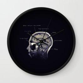 On Alcohol Wall Clock