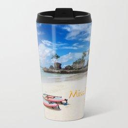 Boracay,Philippines,Paradise,Tropical Island in the Pacific Ocean Travel Mug