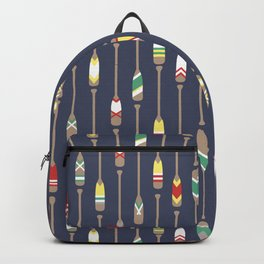 Bail & Sail - Navy Oars Backpack