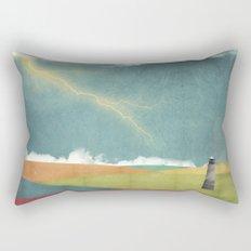 RGB Ocean Rectangular Pillow