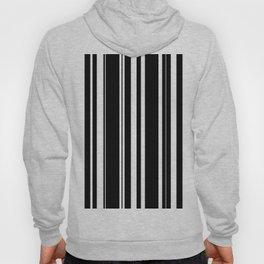 Black and white stripes 4 Hoody