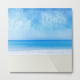 A Day At The Beach - II Metal Print
