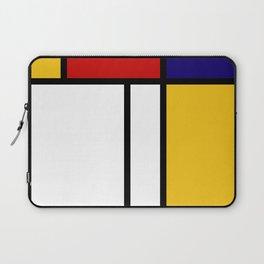 Geometric Wall Art, Mid Century Modern Wall Art, Grey Yellow Black Art, Shapes and Lines Art, Bauhau Laptop Sleeve