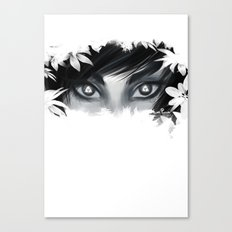 Triforce Stare Canvas Print