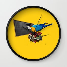 Repeat (Colour) Wall Clock