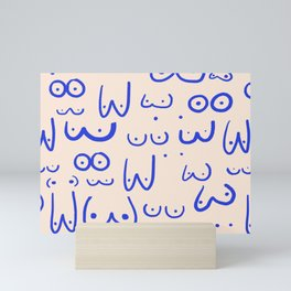 Boobies Mini Art Print
