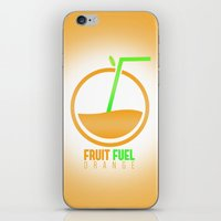 pocket fuel iPhone & iPod Skins featuring Fruit Fuel. by Novus.