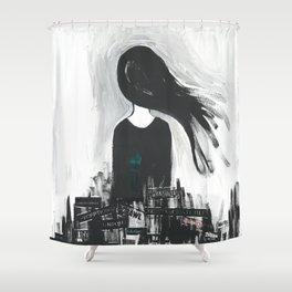 Sketch Series 002 Shower Curtain