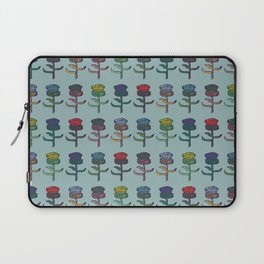 colorful thistles Laptop Sleeve