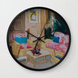 Golden Girls living room Wall Clock