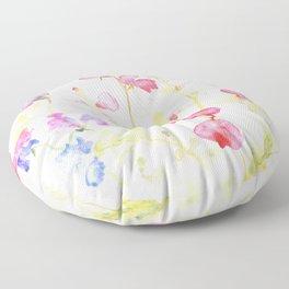 Sweet Peas Please Floor Pillow