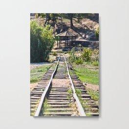 Environmental Awareness Park 'Antonis Tritsis' Train Tracks Metal Print