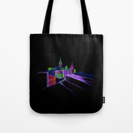 Vibrant city 3 Tote Bag