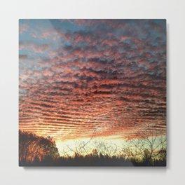 Rolling Skies Metal Print