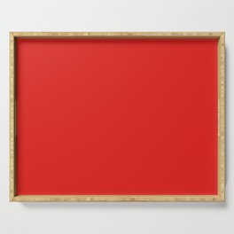 Solid Shades - Cherry Serving Tray