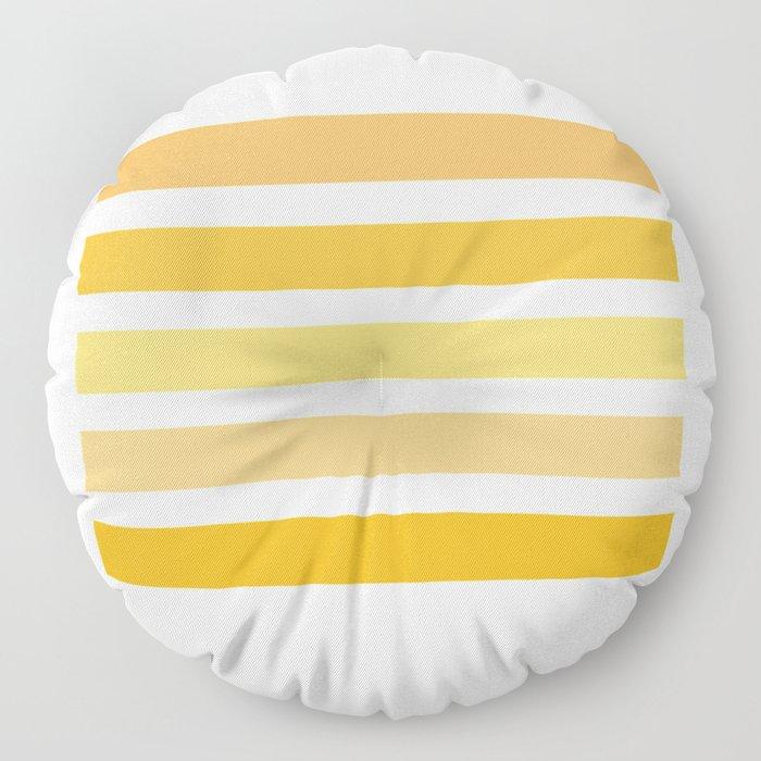 Sunburst Art Print Floor Pillow