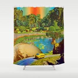 Gardens of Pluto Shower Curtain