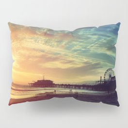 Santa Monica Sunset Pillow Sham