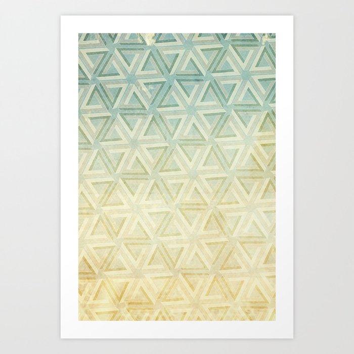 escher pattern Art Print