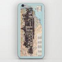 north carolina iPhone & iPod Skins featuring North Carolina by Ursula Rodgers
