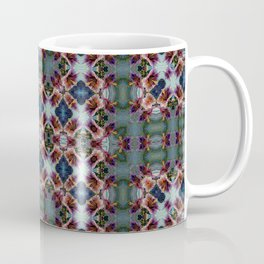 PATTERN ABSTRACT LITTLE HIBISCUS 2 BLOSSOM 2 Coffee Mug