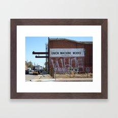 Machinations Framed Art Print