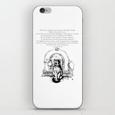 The Cat is Cryptic iPhone Skin