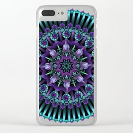 Daily Focus 1.5.2018 Mandala Clear iPhone Case