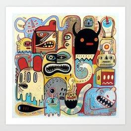 Métroplein Art Print