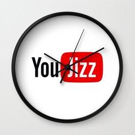 You Jizz Wall Clock